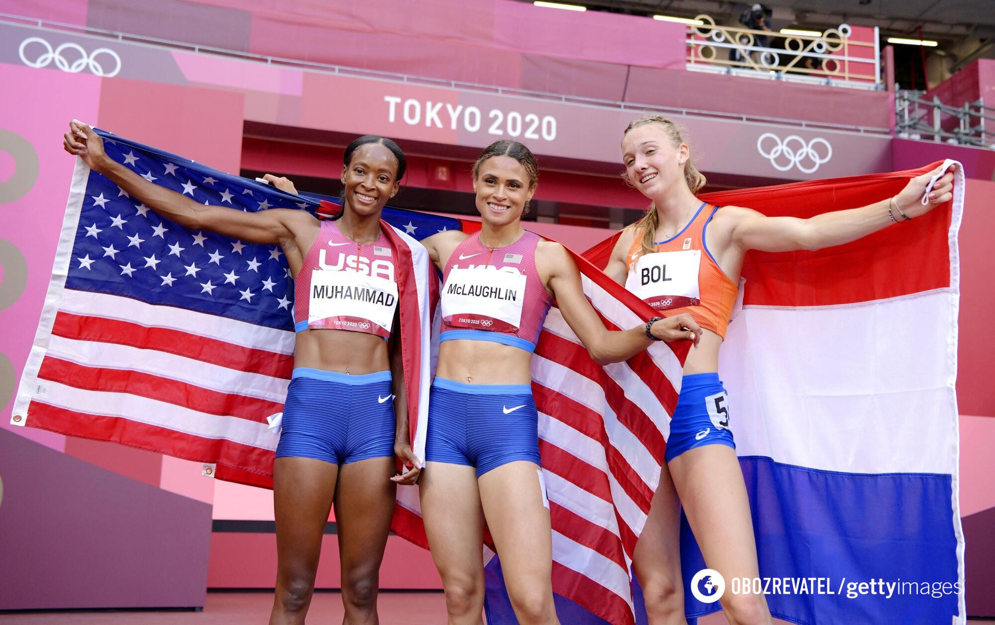 Американки заняли два первых места