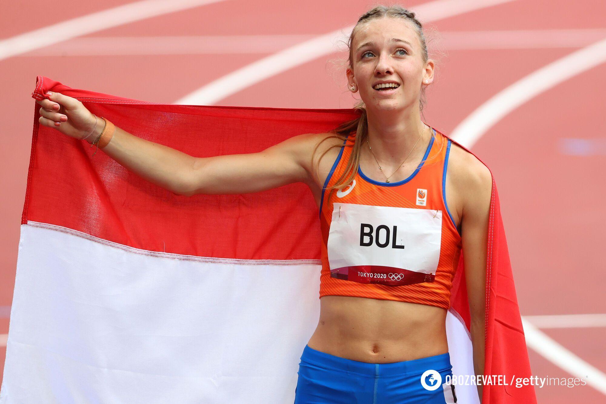 Фемке Бол финишировала третьей