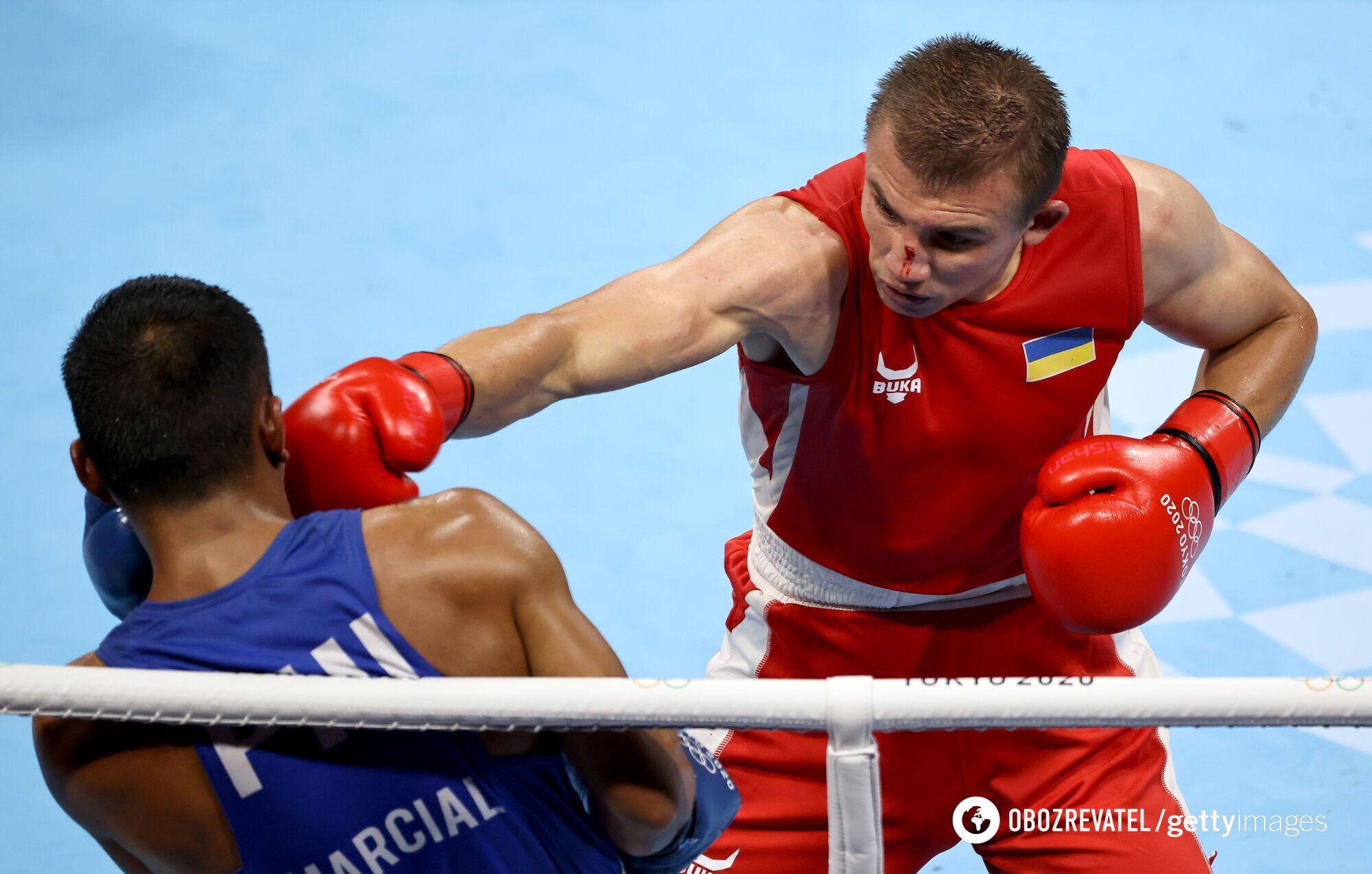 Хижняк в бою на Олимпиаде