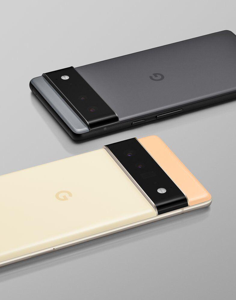 Смартфоны Pixel 6 от Google