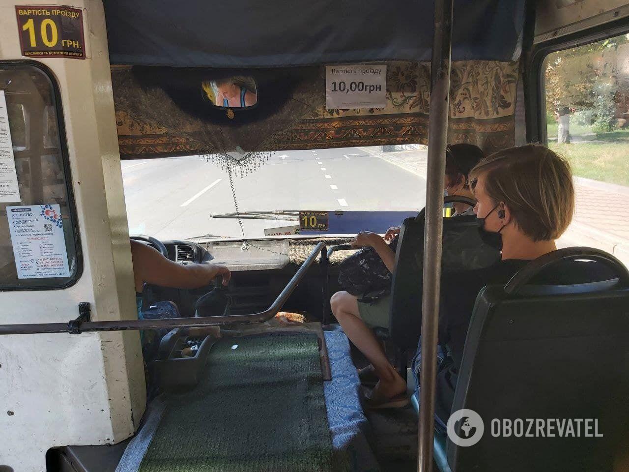 Маршрутки в Києві застарілі, а водії часто поводяться по-хамськи.