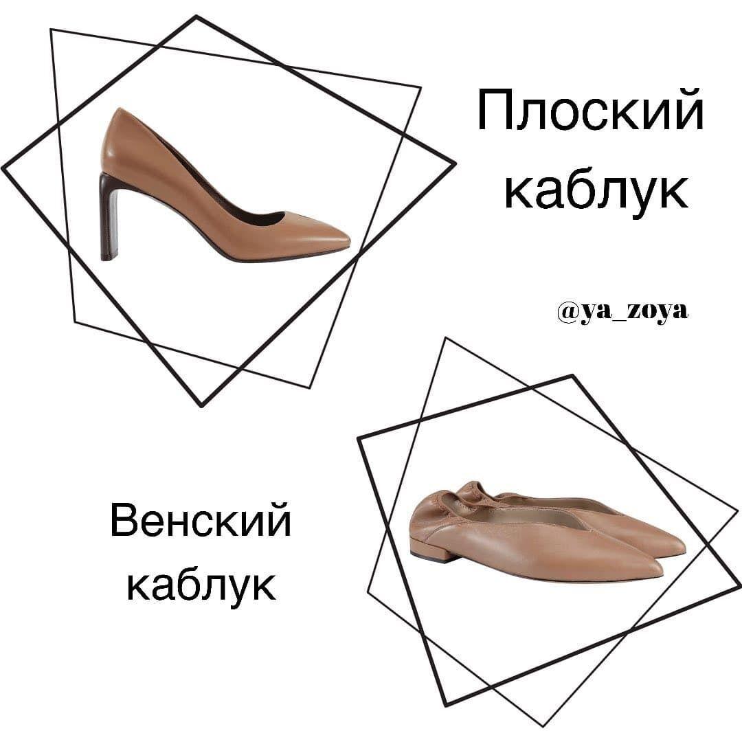 """""""Плоский"""" каблук и """"венский"""""""