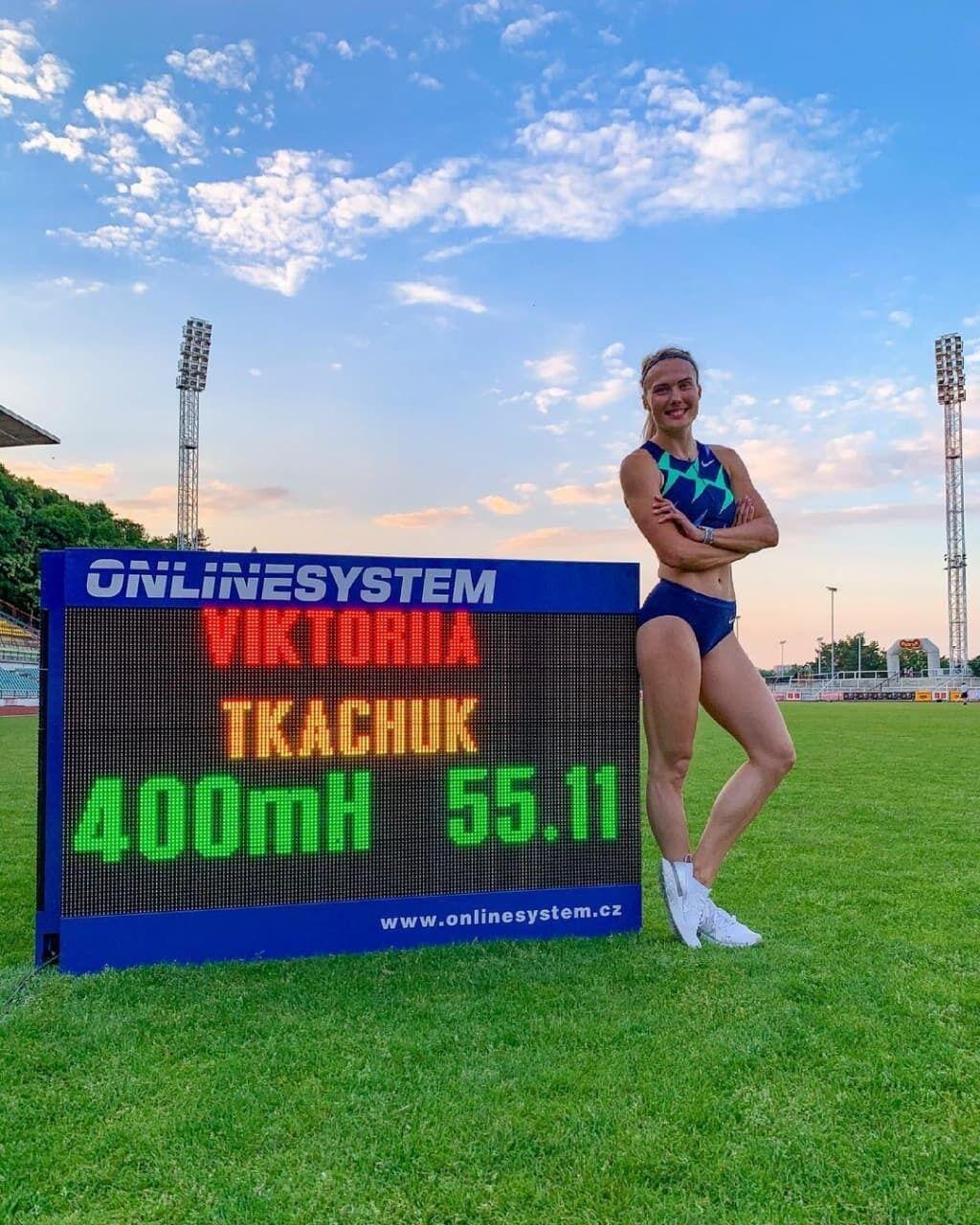 Виктория Ткачук является многократной чемпионкой Украины