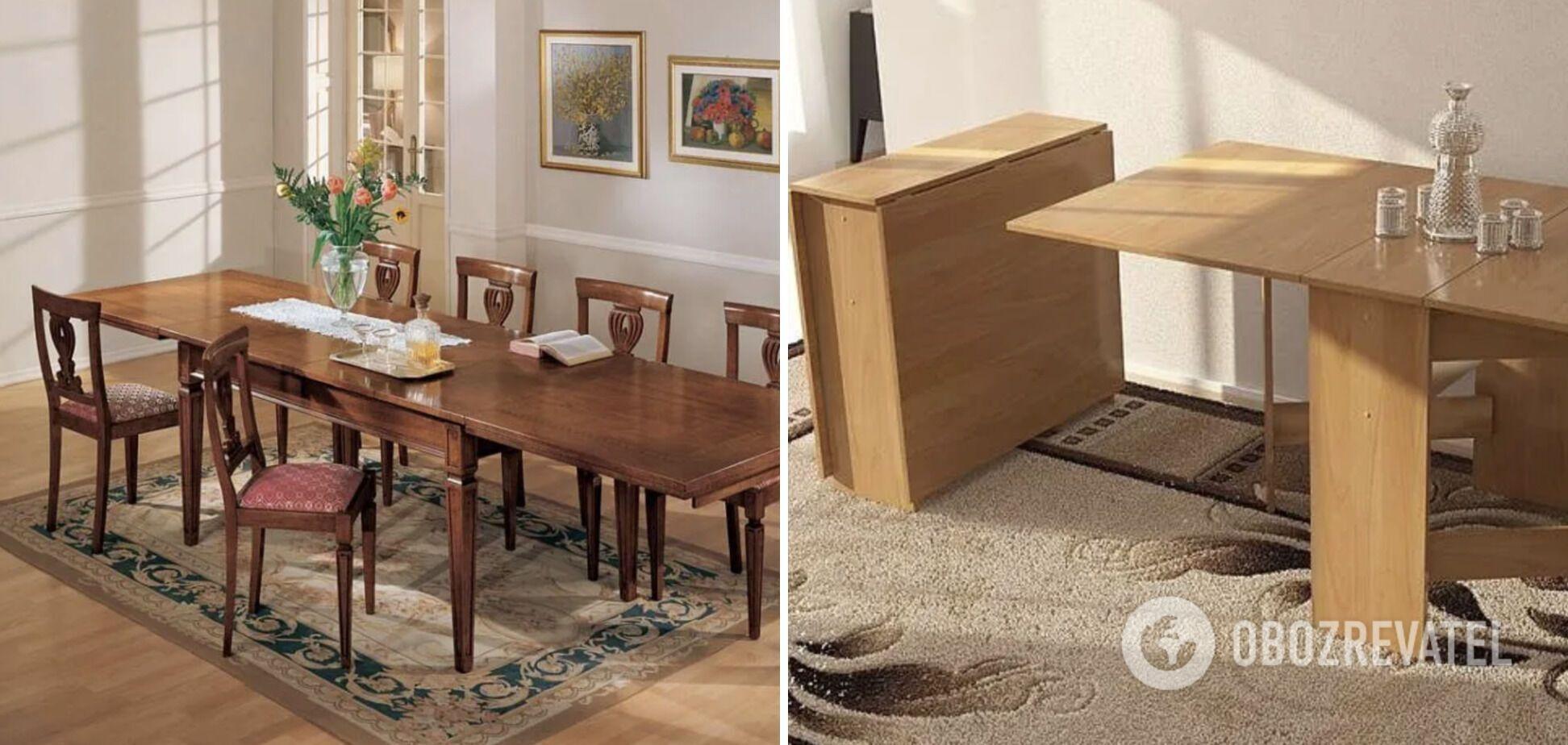 Люди ставили величезний стіл у маленькій вітальній