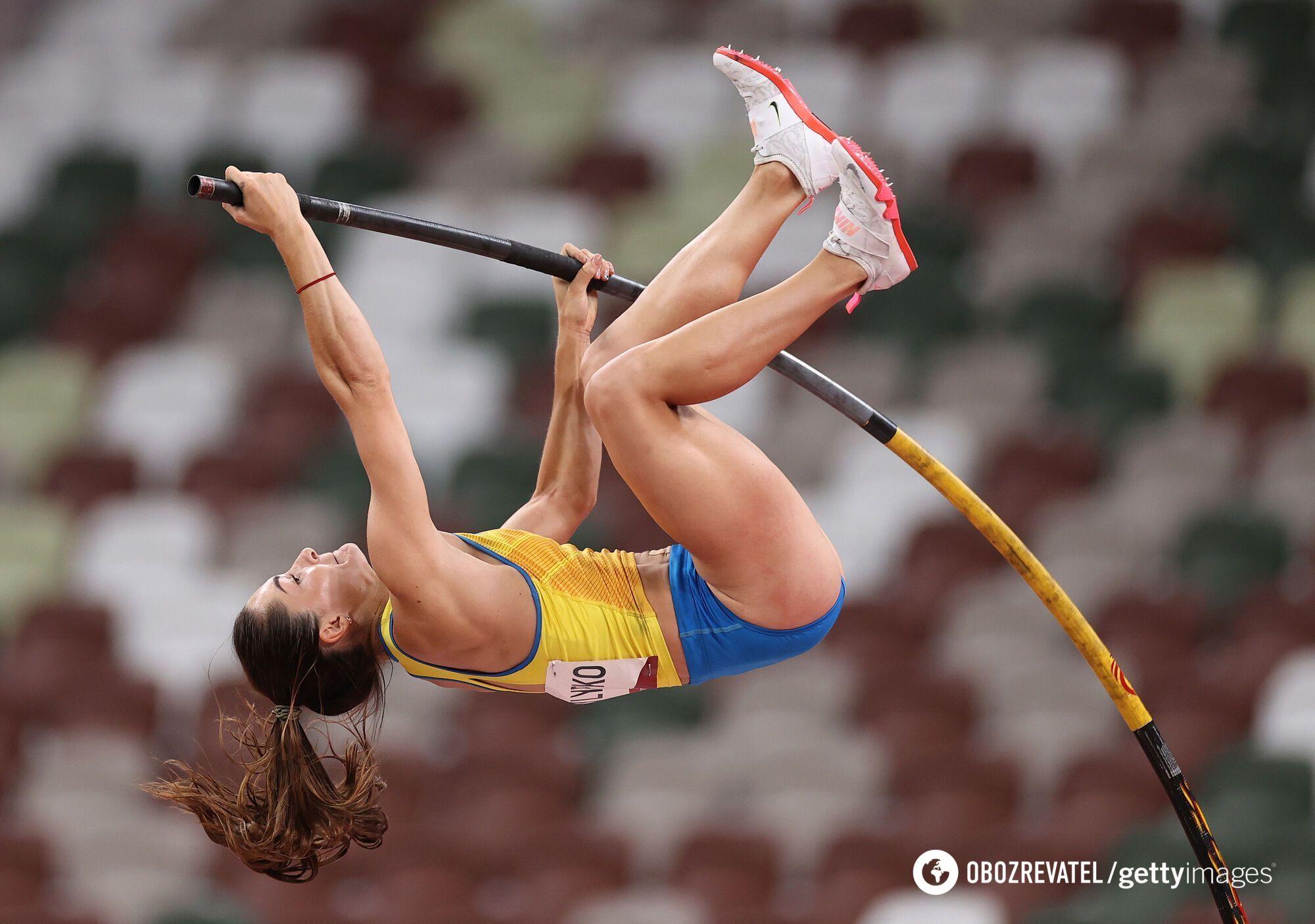 Украинская прыгунья с шестом Марина Килипко