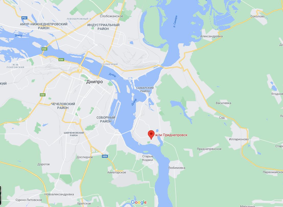 Тело подполковника нашли на жилом массиве Приднепровск.