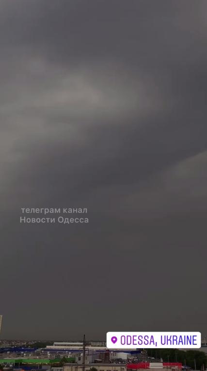 Черное небо над Одессой