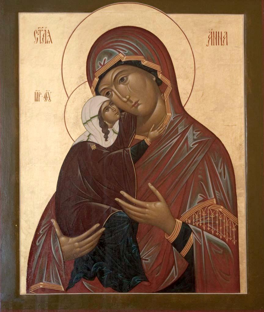 Праведная Анна является одной из самых чтимых святых