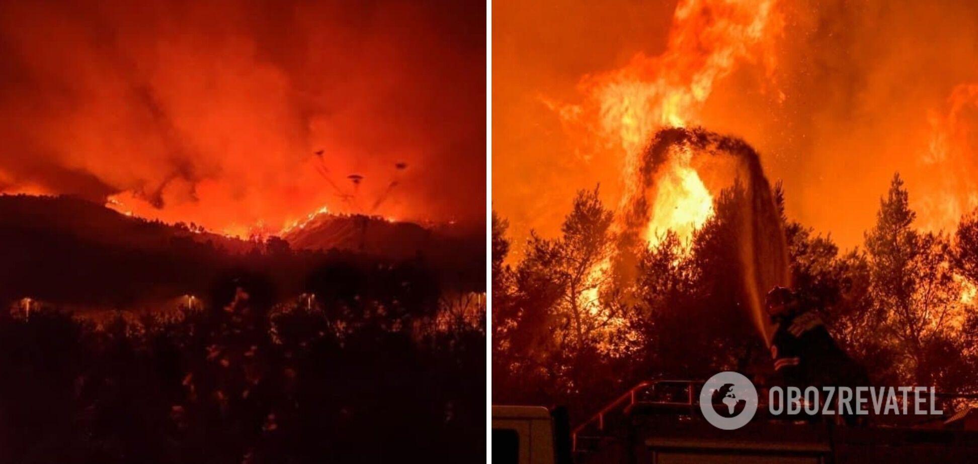 Вогонь забрав життя двох людей.