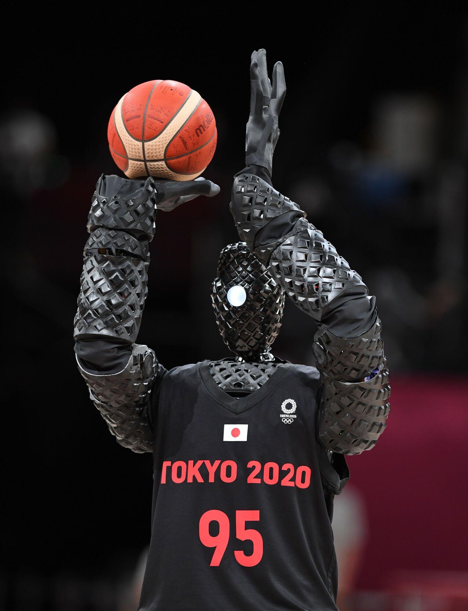 Робот-баскетболіст
