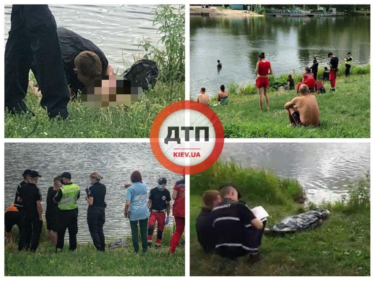 У Києві потонула вагітна жінка