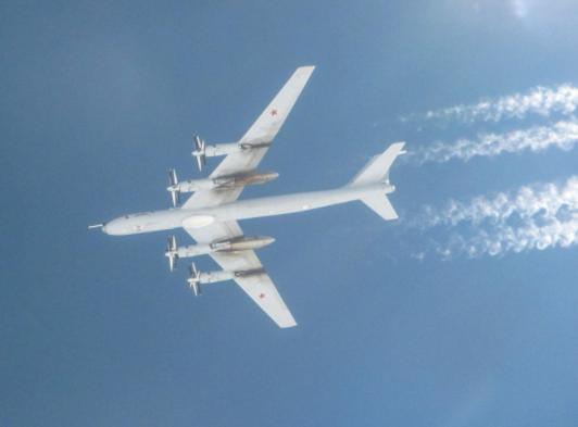 Ту-142 ВПС Росії.