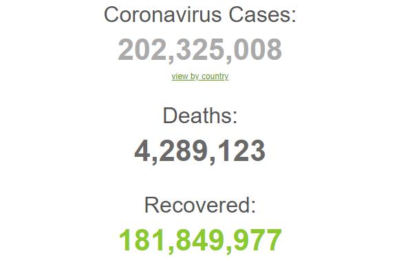 Заразились более 200 млн человек.