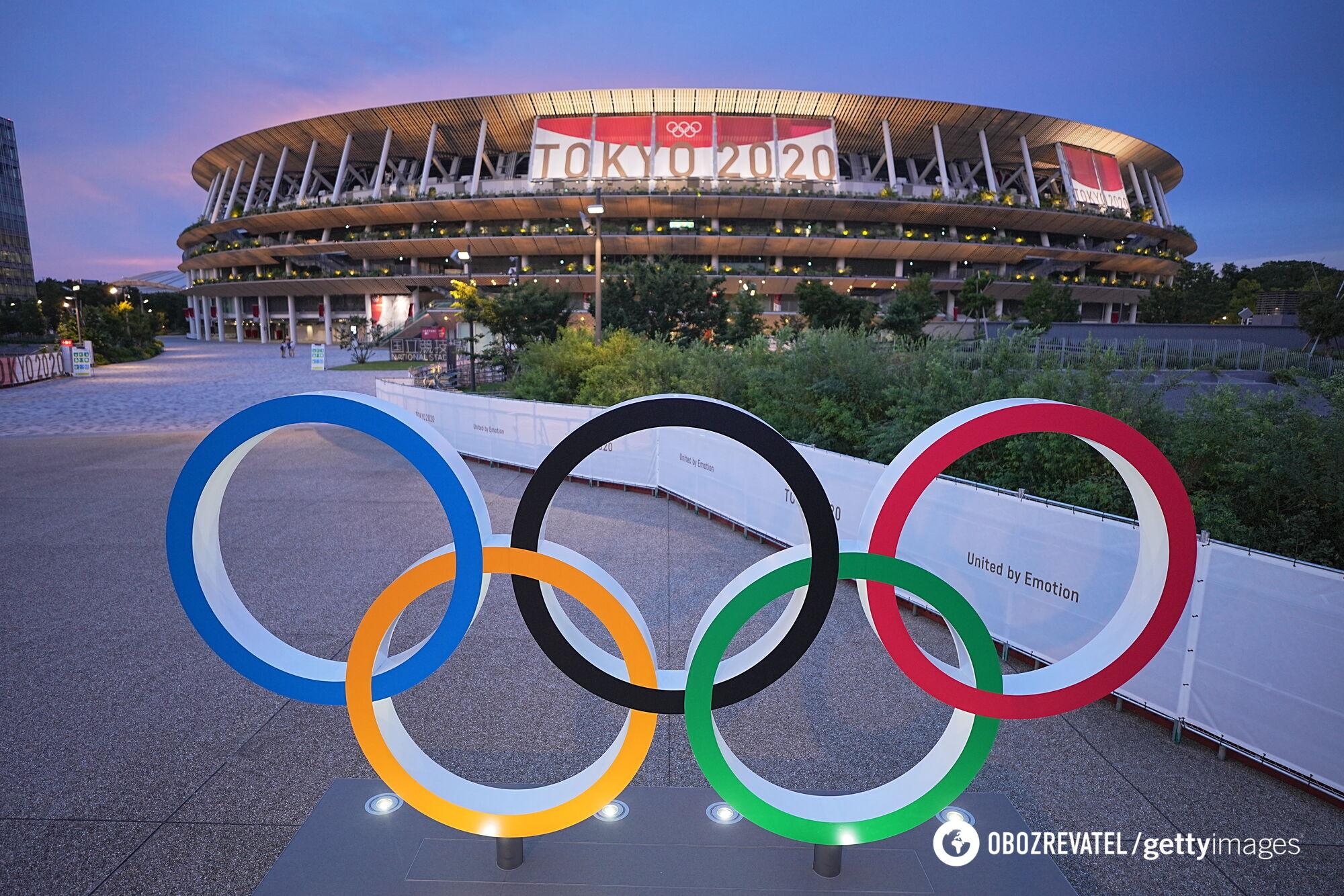 Национальный олимпийский стадион в Токио