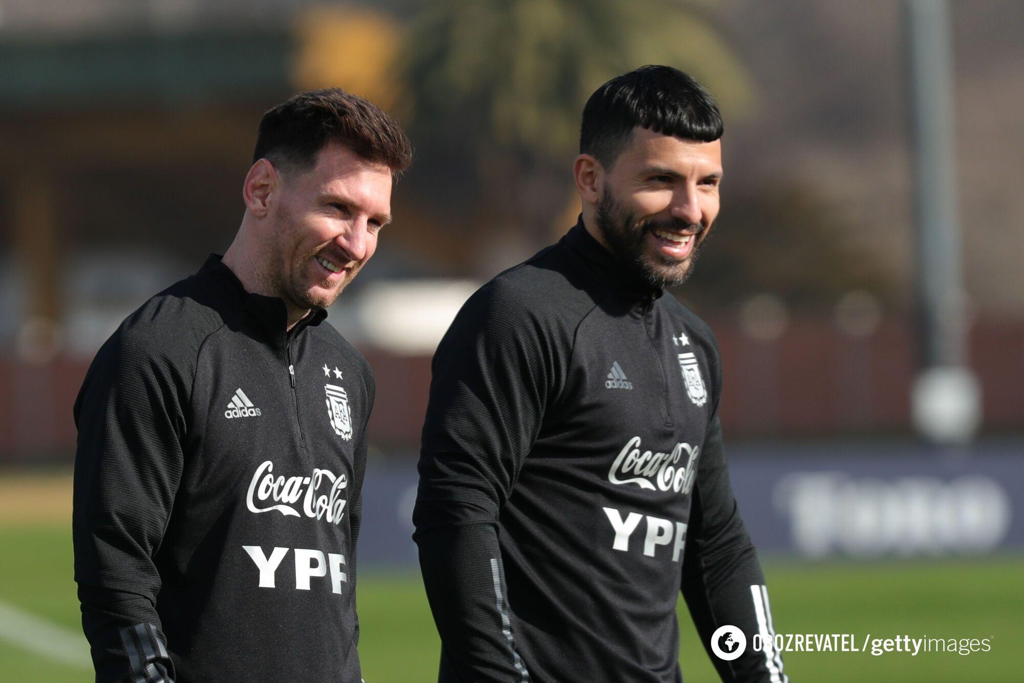 Мессі та Агуеро