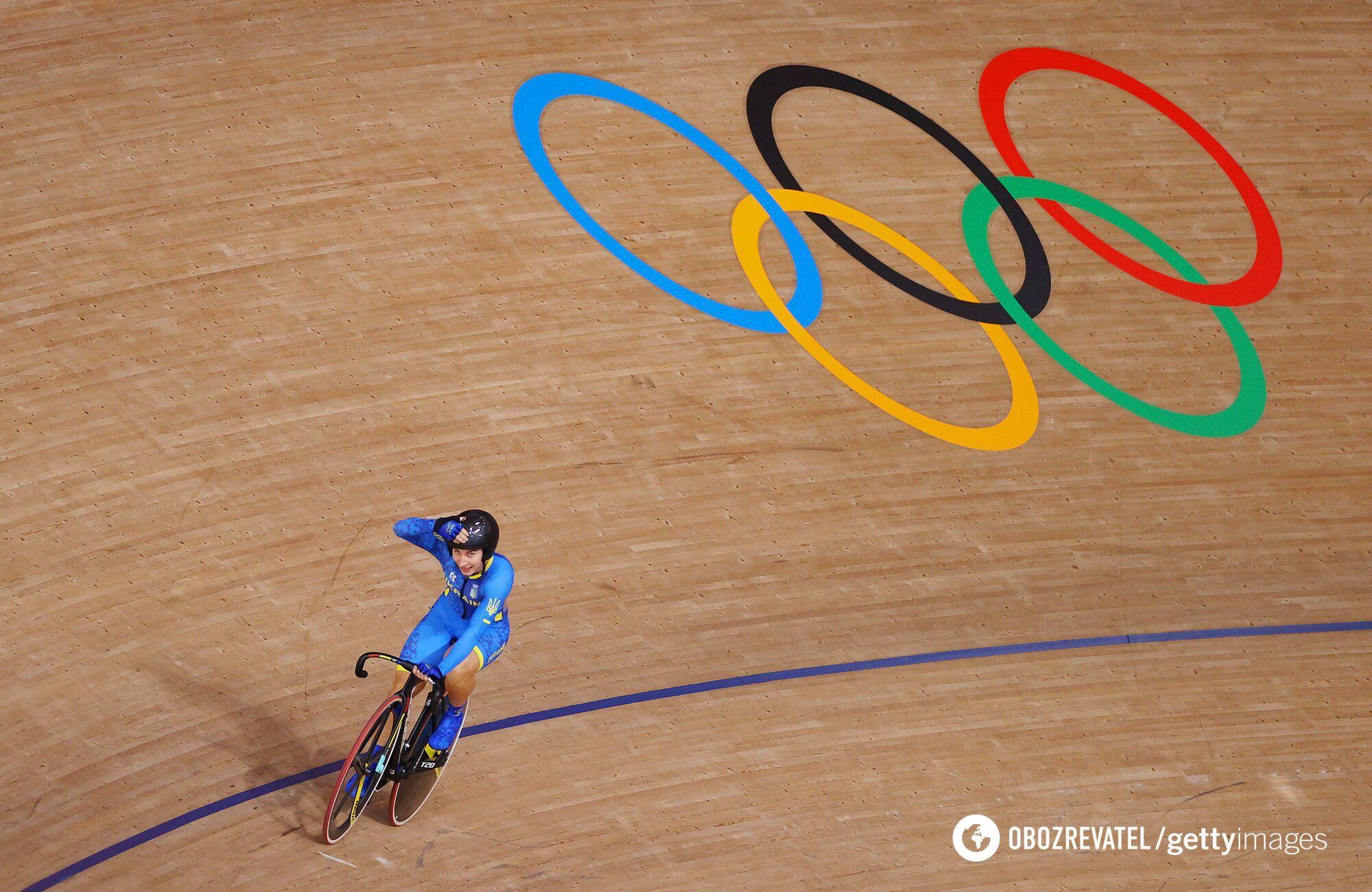 Олена Старікова стала другою у спринті.