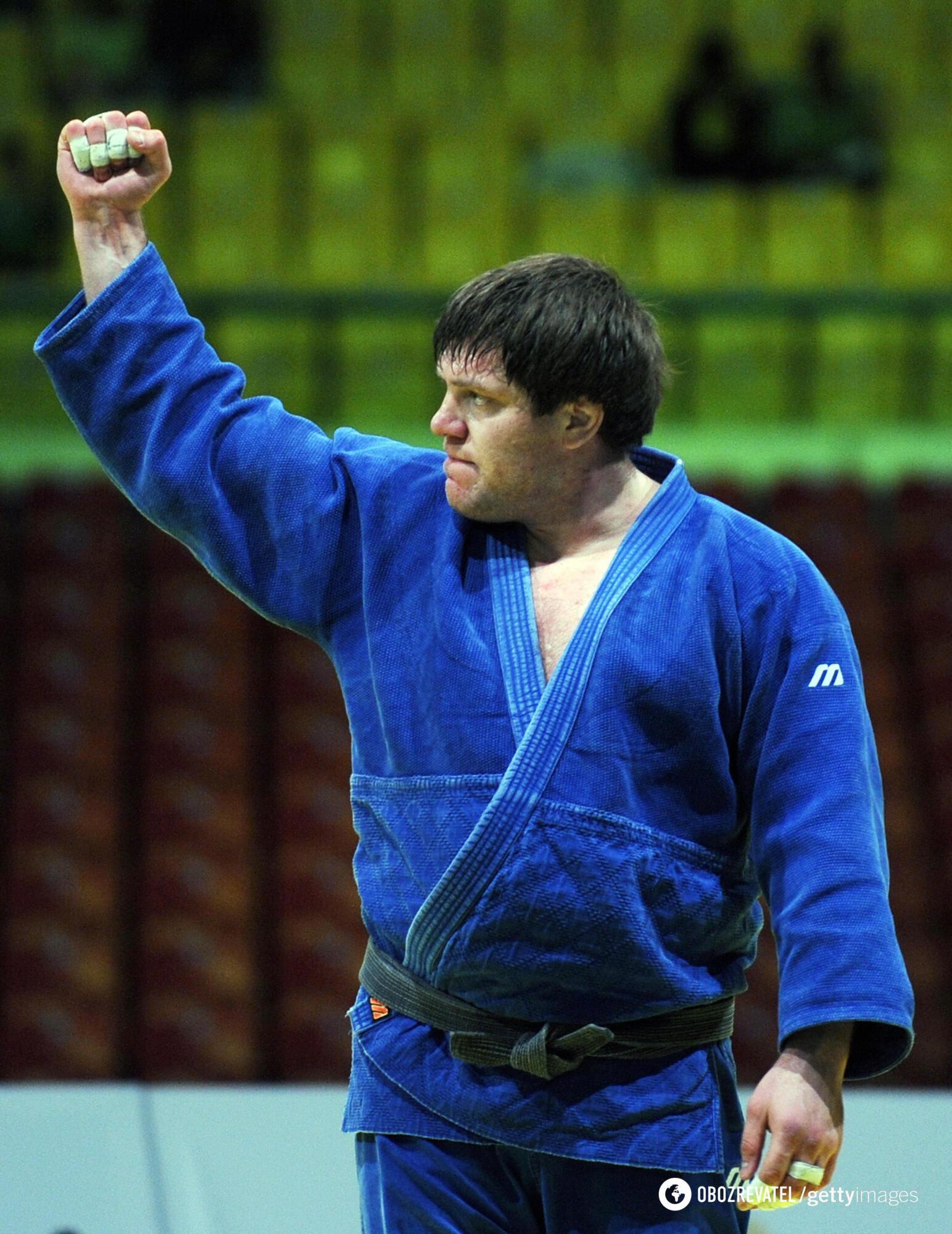 Сотников на турнірі (2008 рік)