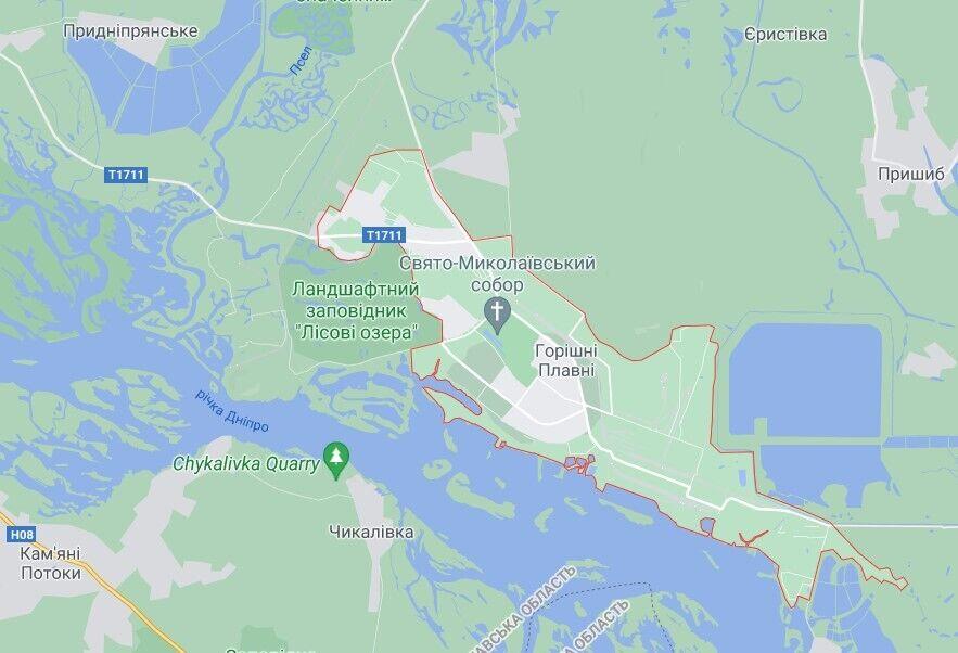 Происшествие случилось в городе Горишние Плавни, что в Кременчугском районе на Полтавщине