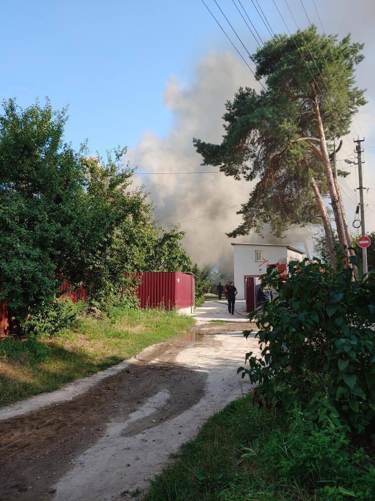 Пожежа в Бучі