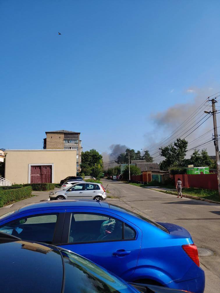 Загорівся будинок на вул. Центральній