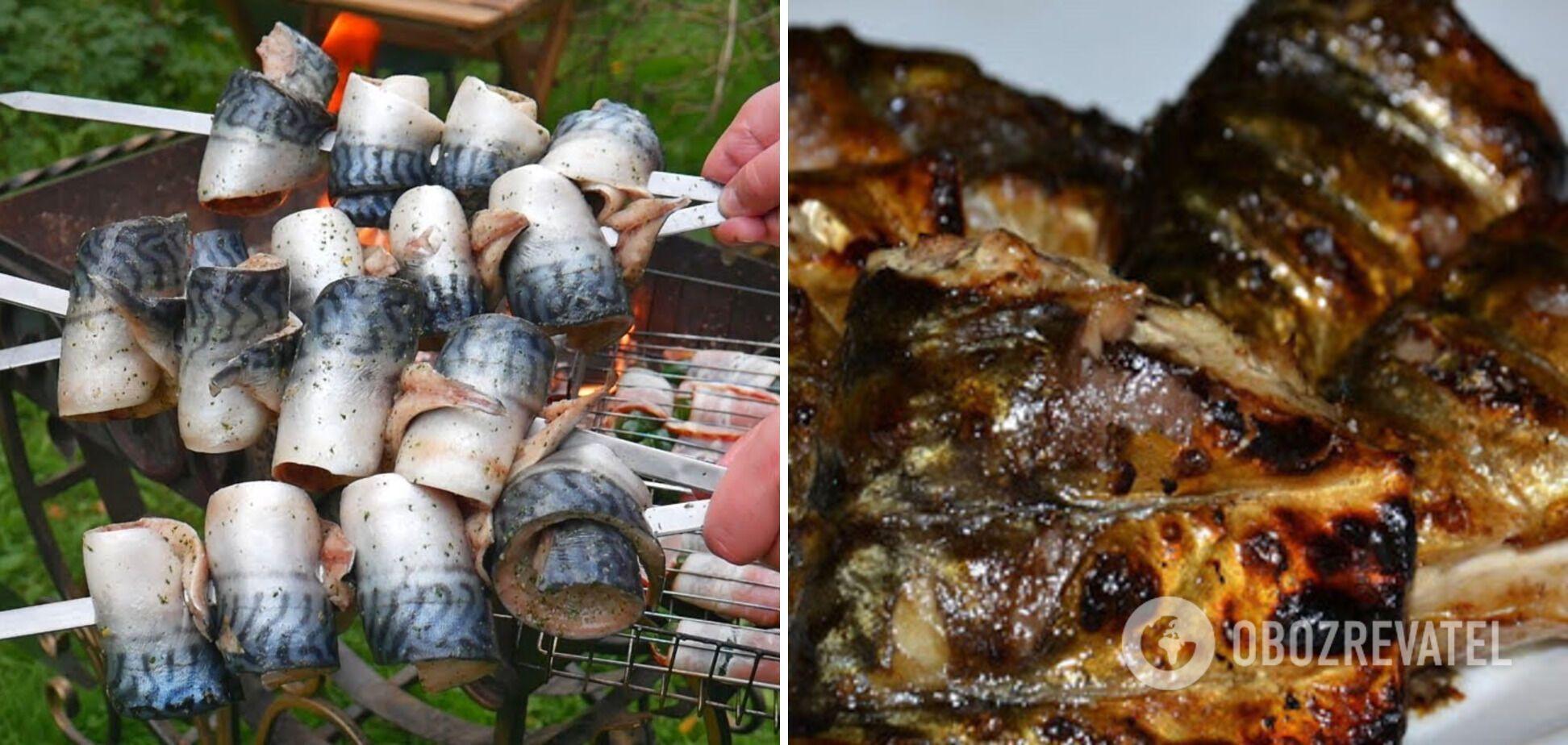 Рыбный шашлык