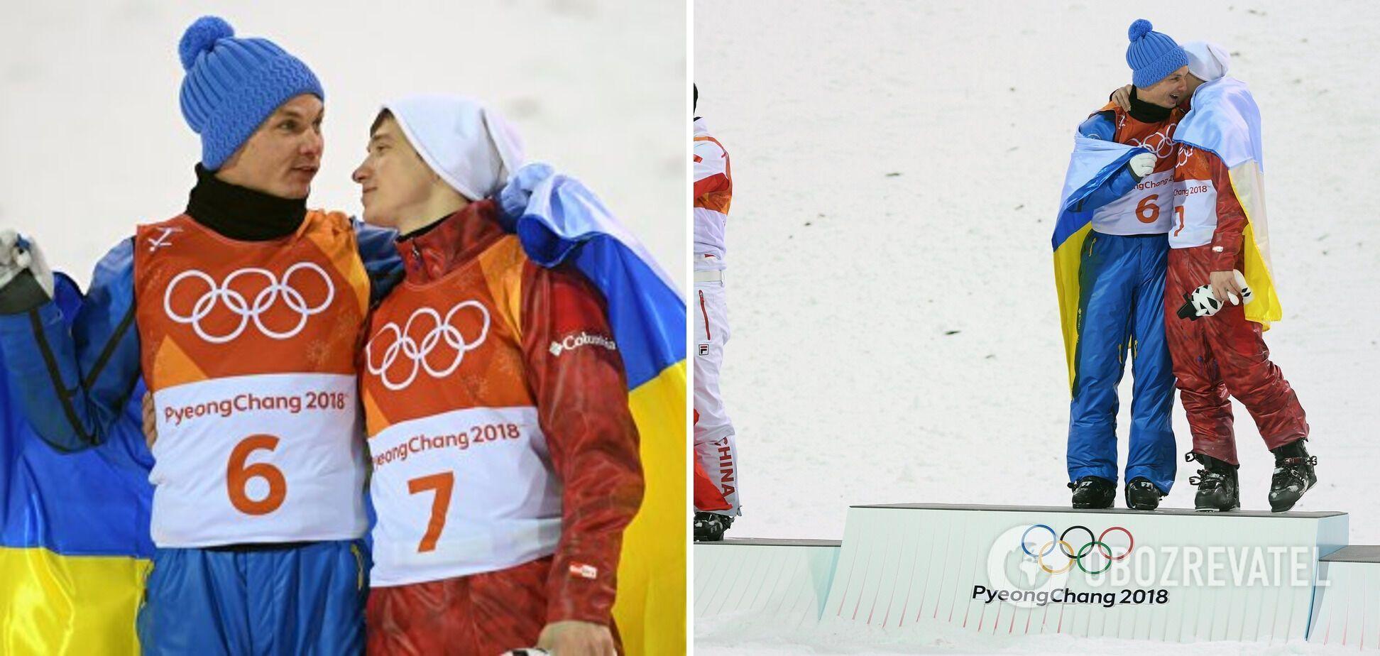 Александр Абраменко обнялся с россиянином Ильей Буровым