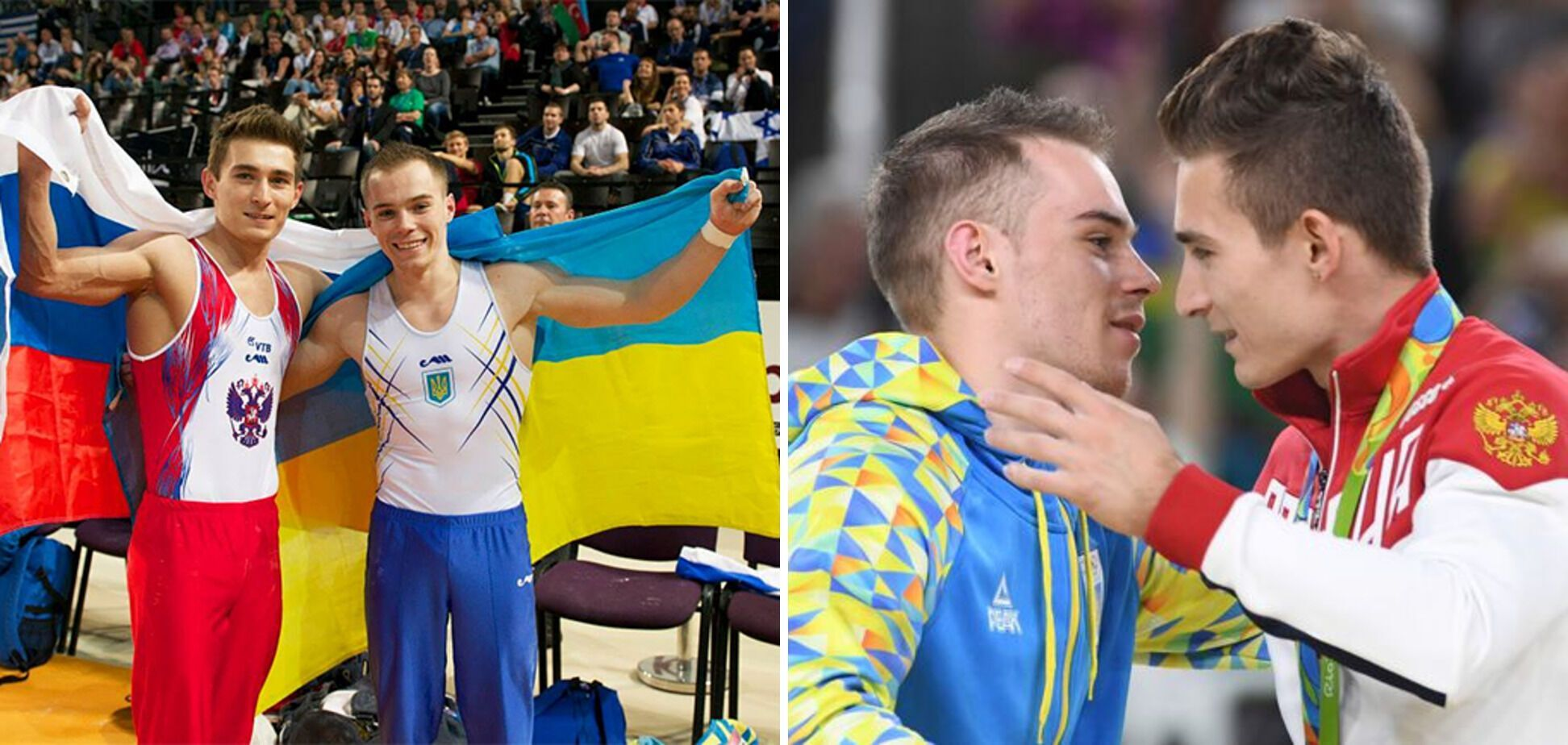 Олег Верняев и Давид Белявский