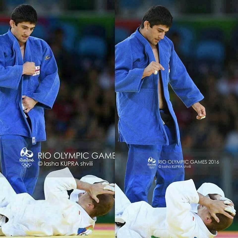 Шавдатуашвілі після перемоги над росіянином на ОІ 2016