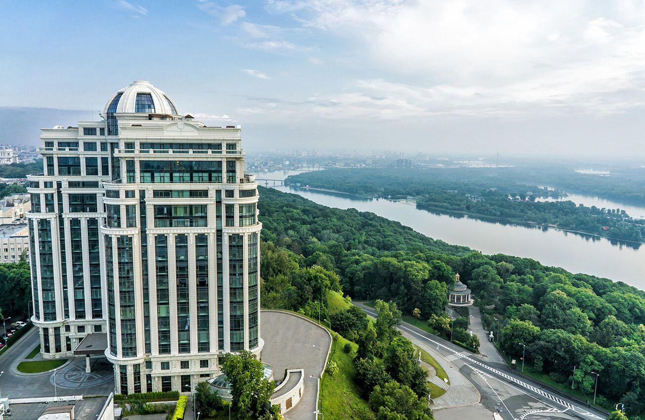 ЖК Диамант находится в центре Киева