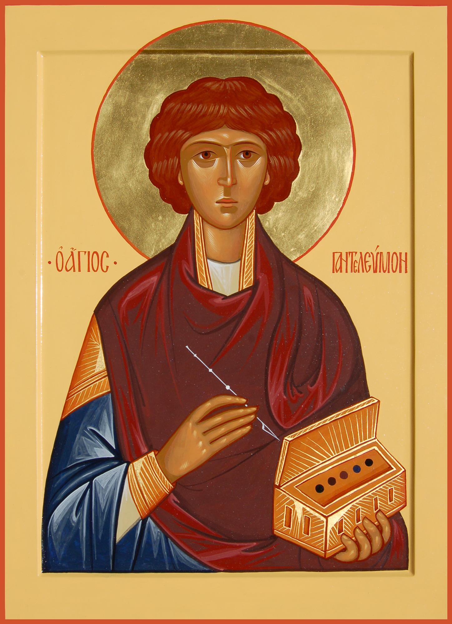 Святий Пантелеймон Цілитель народився в Нікомидії