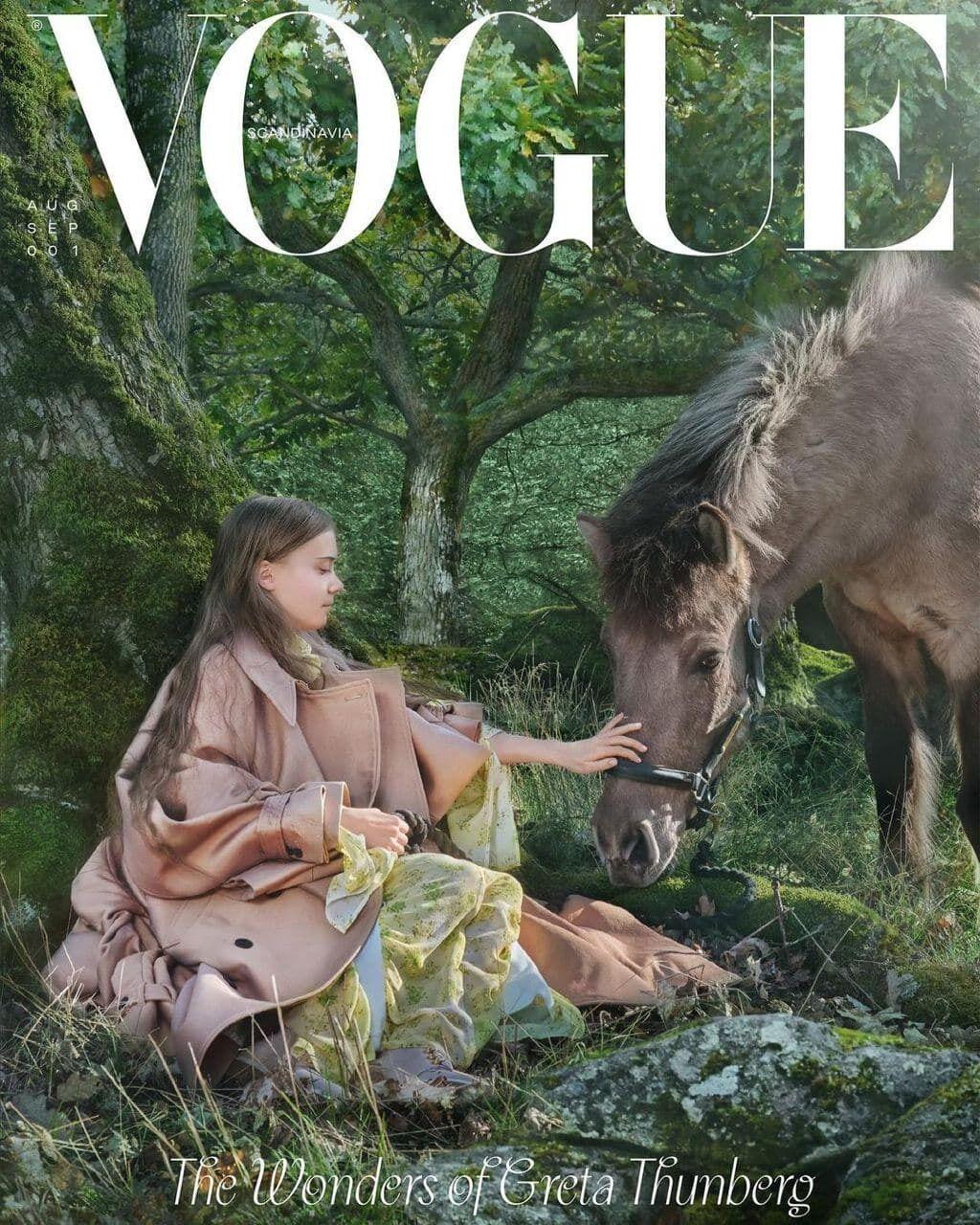 Грета Тунберг на обложке журнала