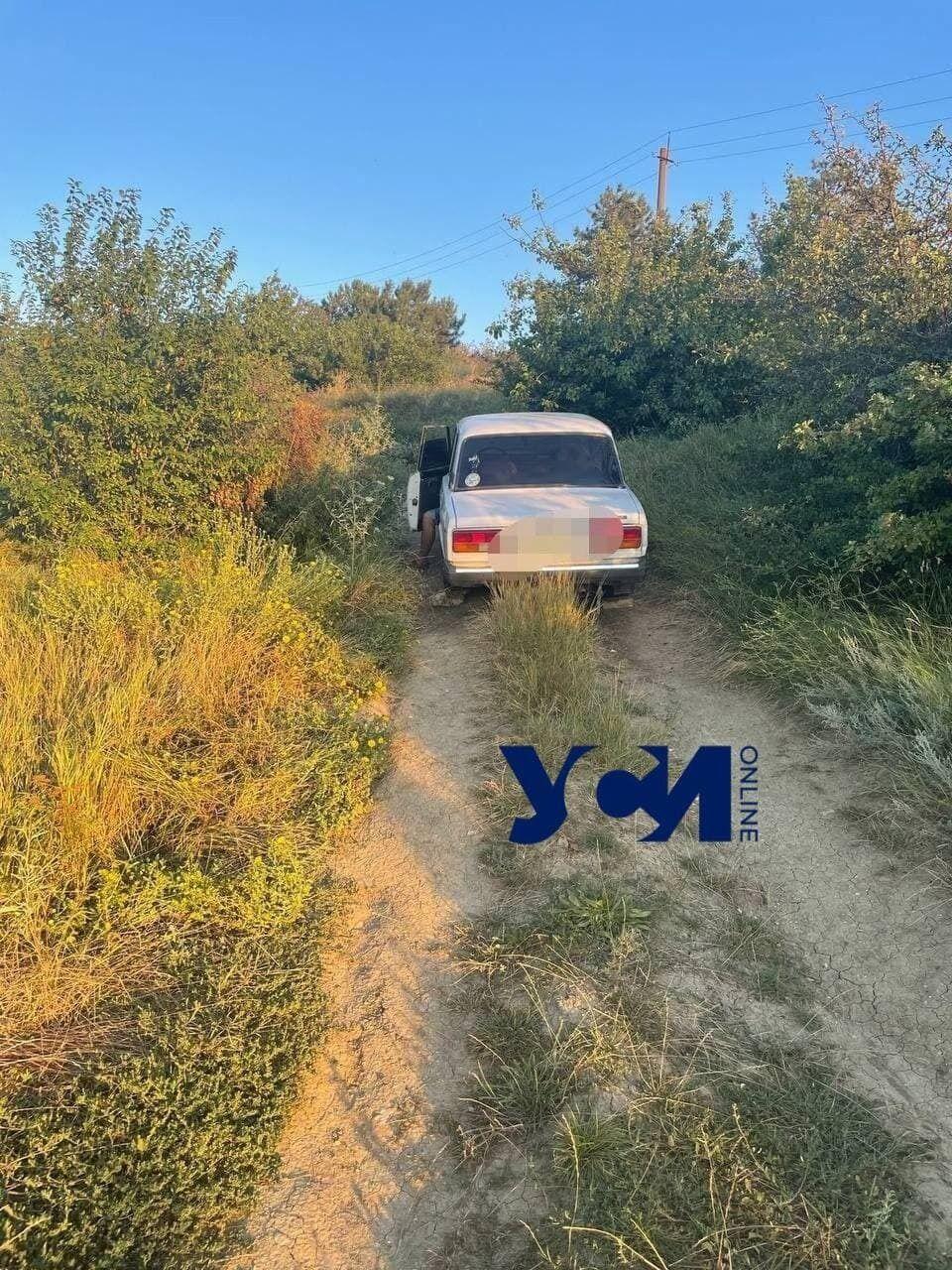Труб был обнаружен в салоне ВАЗ-2107