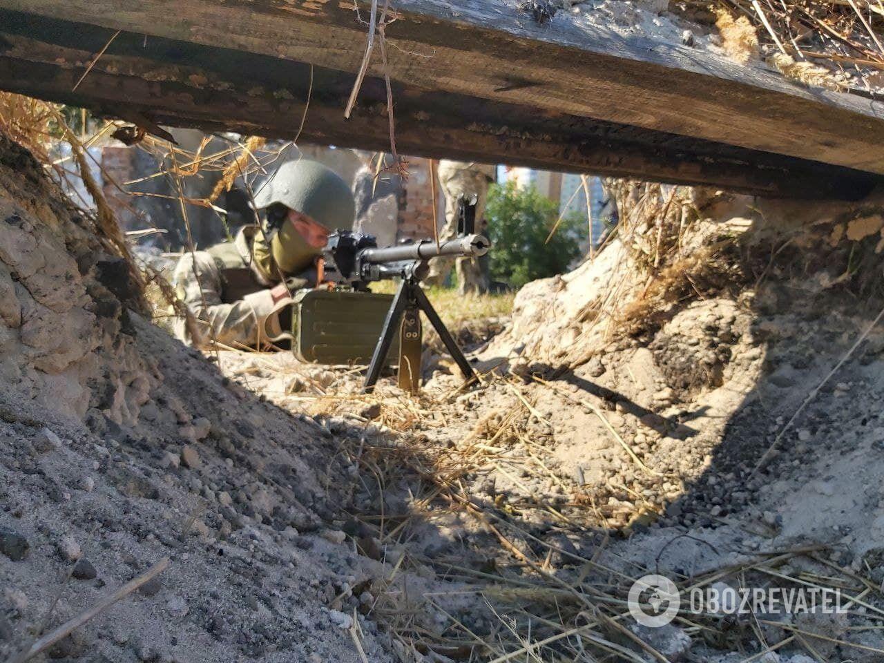 Навчання сил територіальної оборони.