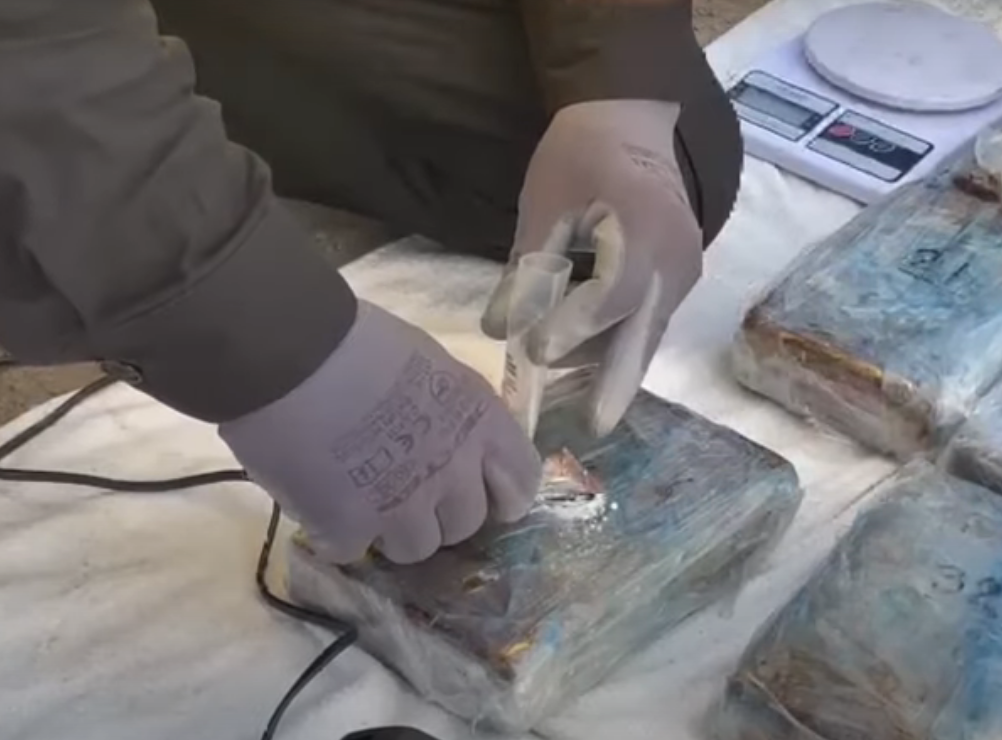 Преступники собирались переправить кокаин контрабандой в ЕС