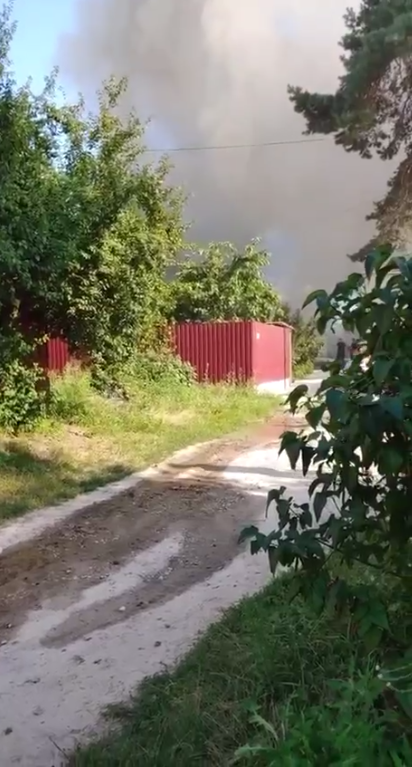 Спалахнув житловий будинок