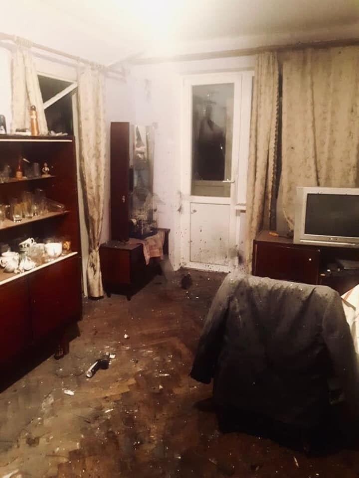 Квартира, де вибухнула граната