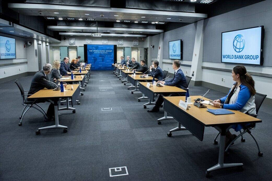 Зустріч Зеленського з представниками Світового банку
