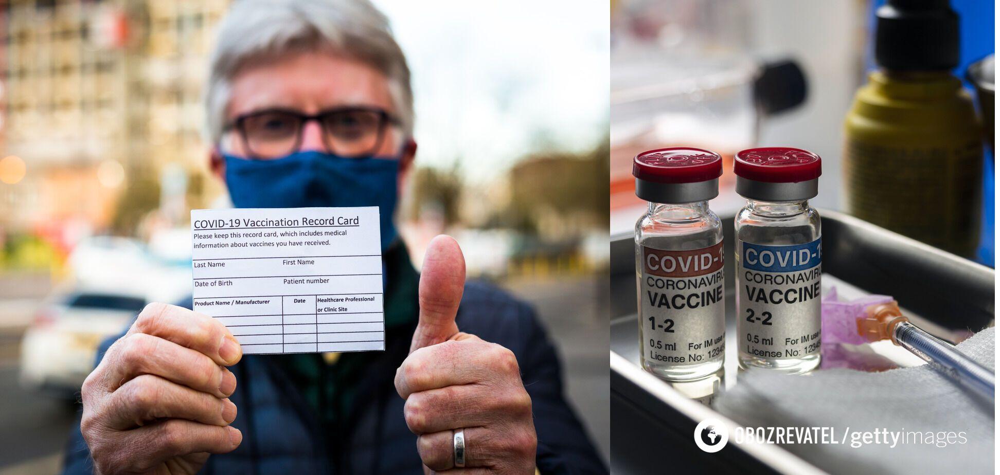 Вакцинація проти COVID-19 необхідна тим, хто не має до нього імунітету