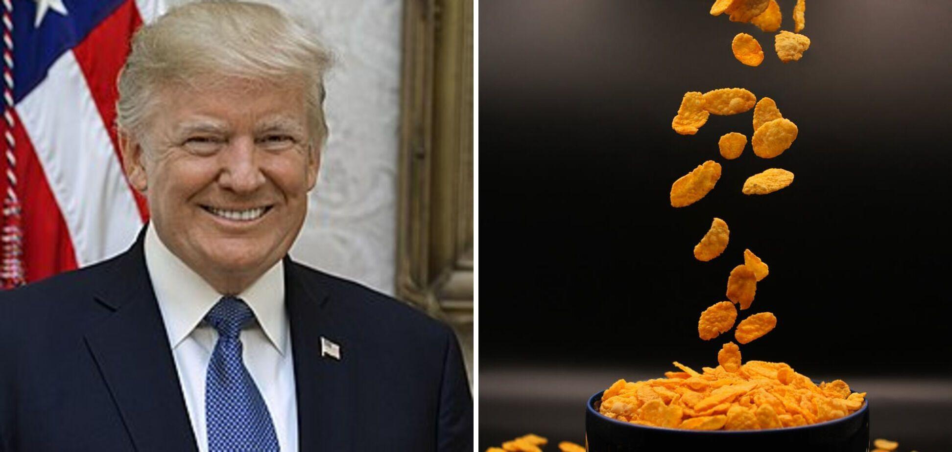 Завтрак Дональда Трампа