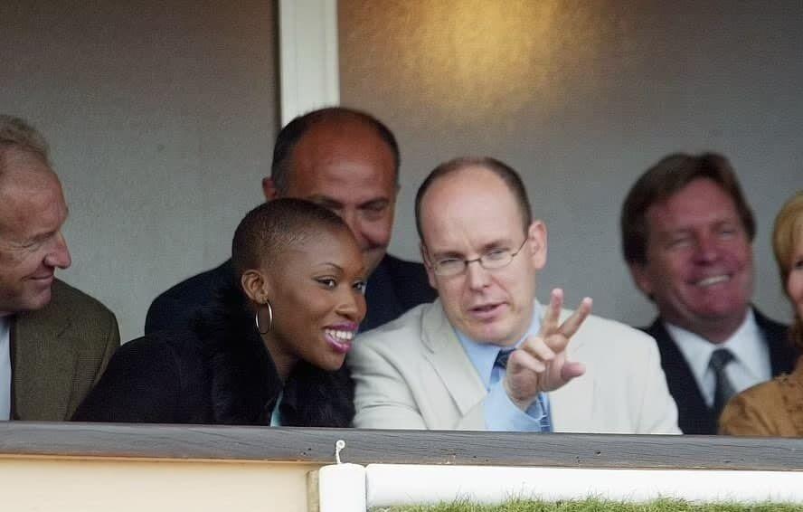 Князь Монако с бывшей любовницей.
