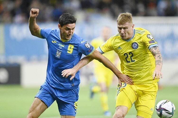 Украинцы не смогли обыграть Казахстан.