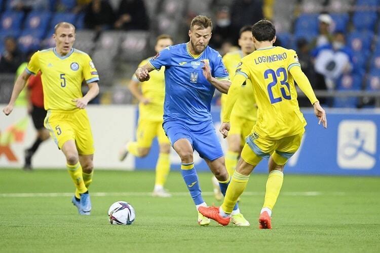 Ярмоленко провів 100-й матч за команду