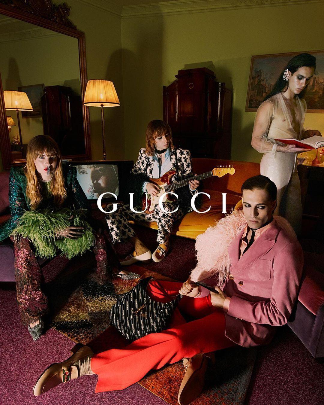 Maneskin стала лицом новой кампании Gucci