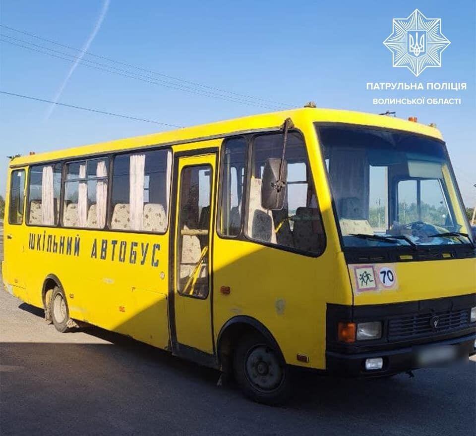 Шкільний автобус.