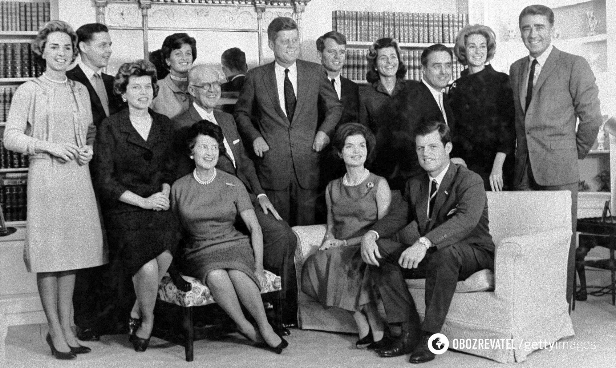 Вся сім'я Кеннеді