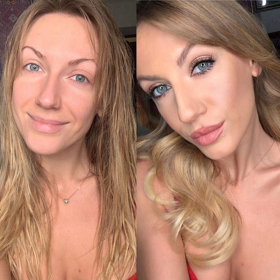 Леся Никитюк без макияжа