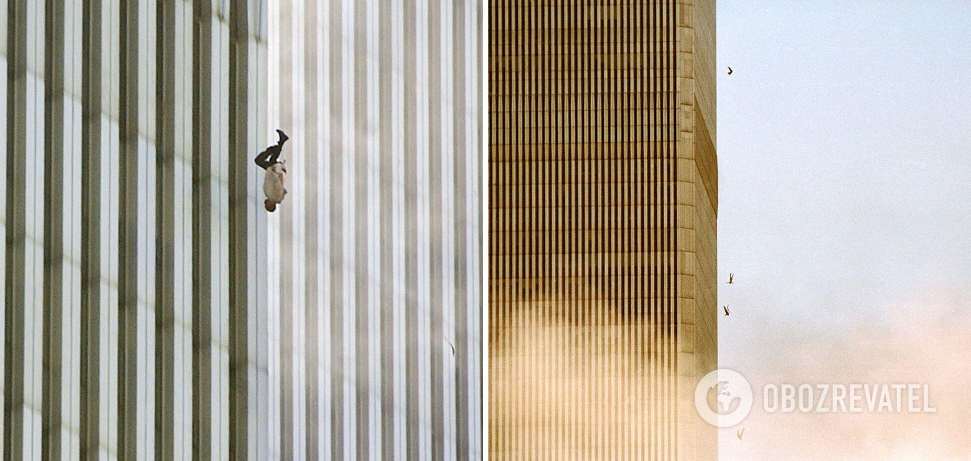 """Фото """"Падающий человек"""""""