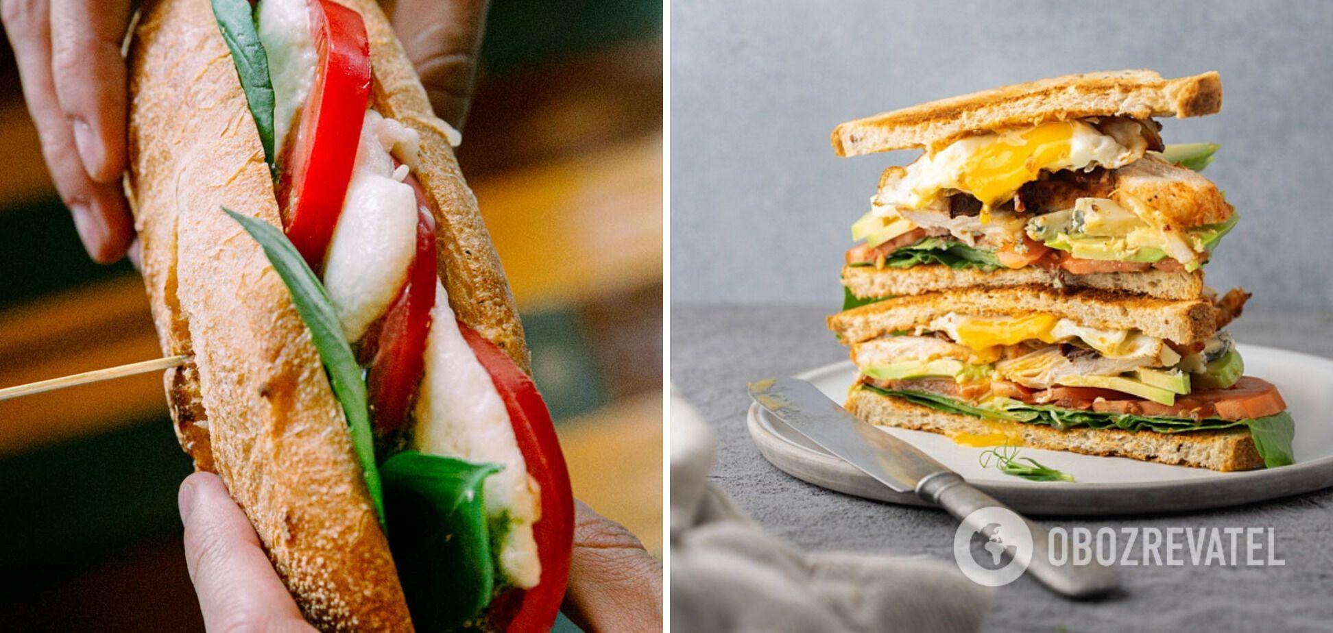 Об'ємний сендвіч
