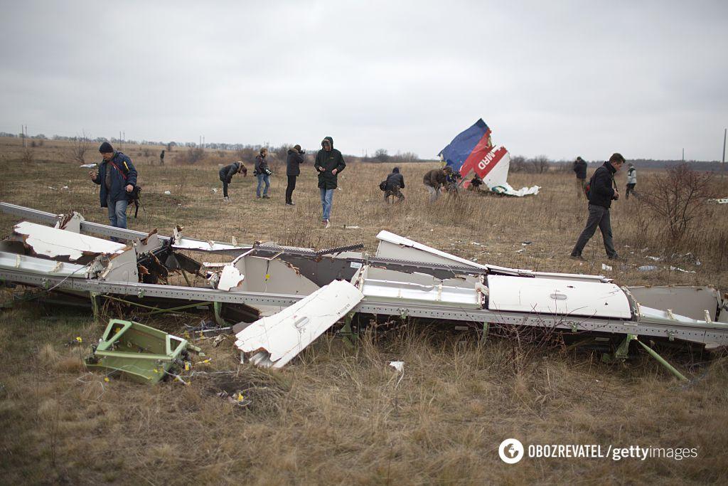 Збитий на Донбасі літак рейсу МН17