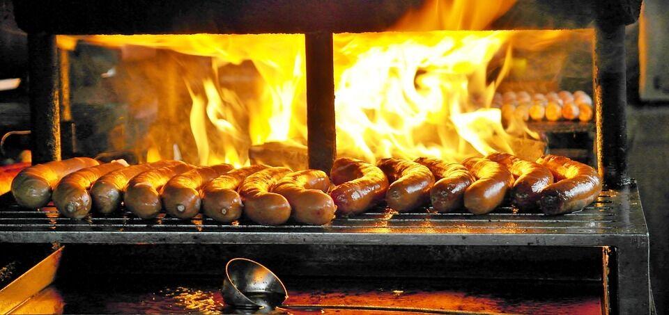 Смажені сосиски для хот-дога